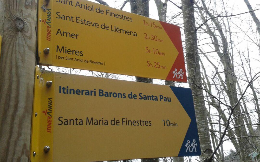 Coneixeu la ruta dels Barons de Santa Pau?